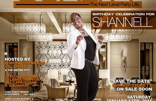 QUALITY DJ SHANNELL B's BDAY CELEBRATION