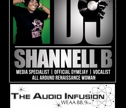 DJ SHANNELL B WEAA