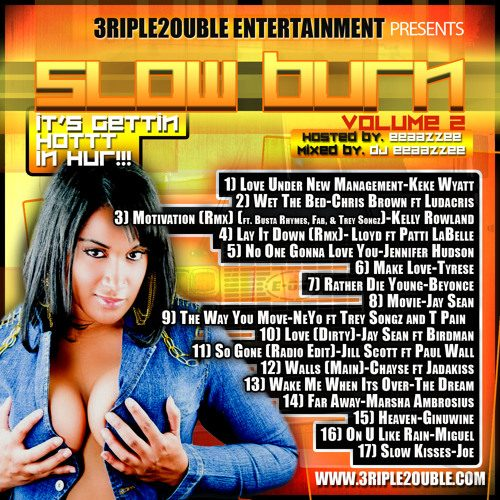 THE SLOW BURN VOL 2 by DJ EEAAZZEE