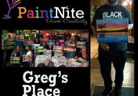 Greg's Place June Paint and Wine Nite