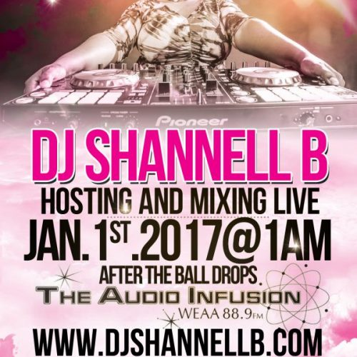 Dj Shannell B Live WEAA 01-10-17