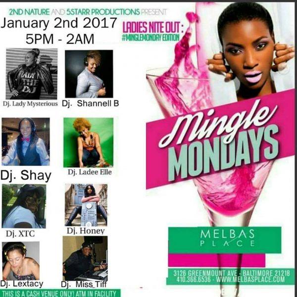 Mingle Mondays 1-2-16