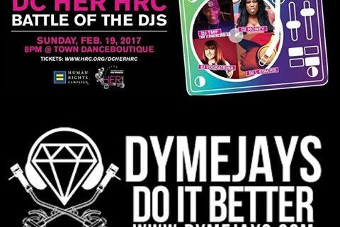 DJ HONEY LIVE DJ CONTEST @TOWN DC