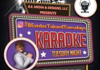 BE ENTERTAINED TUESDAY